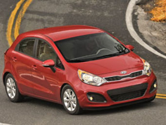 This is a countdown of the 10 cheapest cars in the U.S., as listed by Cars.com. All had to have power windows, locks and Bluetooth capability. In 10th place, Kia Rio