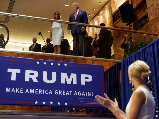 AP GOP 2016 TRUMP MEMORY LANE A ELN FILE USA NY