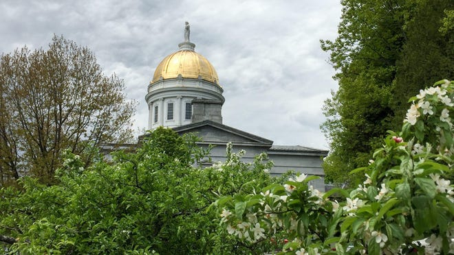 The Vermont Statehouse is pictured on May 24.