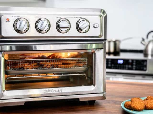 This Cuisinart Air Fryer Toaster Oven Is On Sale For A Great Low Price