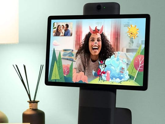 Make video chatting fun again with the Facebook Portal.