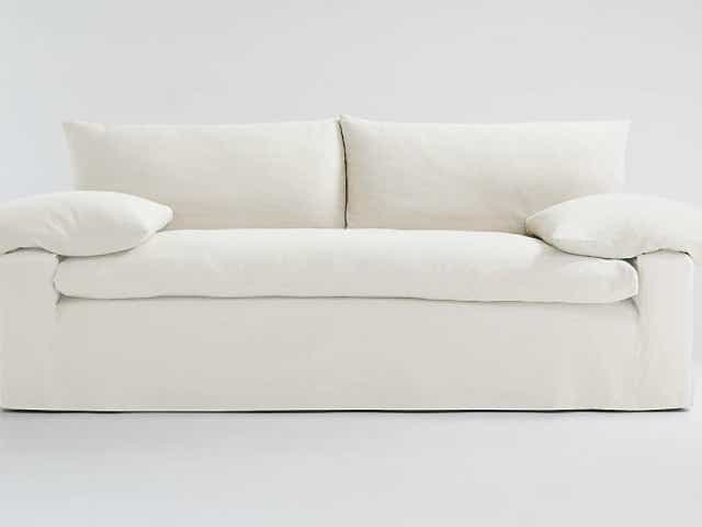 Restoration Hardware Cloud Sofa, What Is A Single Cushion Sofa Called