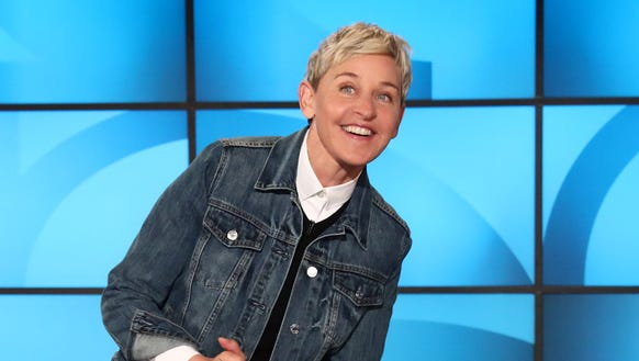 Comedian, talk show host and recent birthday girl Ellen
