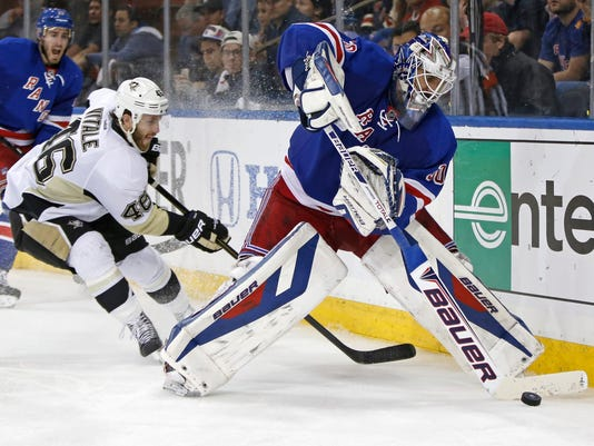 Rangers Penguins Game 6 Henrik Lundqvist