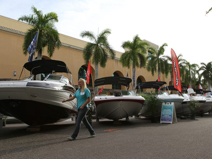 The 43rd Annual Fort Myers Boat Show at the City of