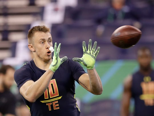 Iowa tight end George Kittle delivered strong performances