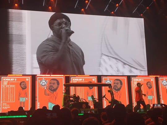 ScHoolboy Q performs at Ak-Chin Pavilion in Phoenix