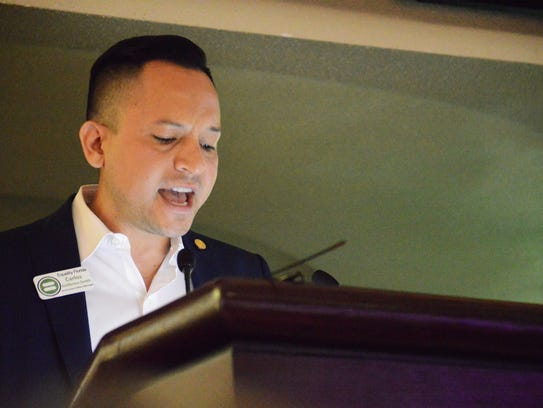 Carlos Guillermo Smith, the government affairs manager