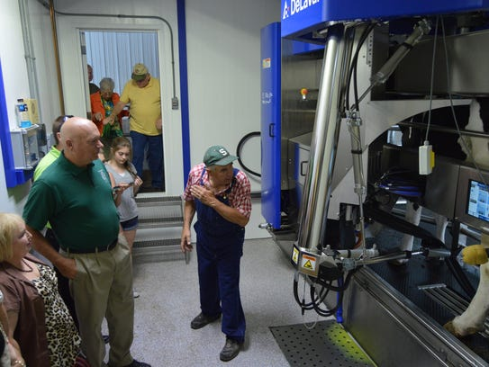 Robotic milking systems allow for flexibility for people