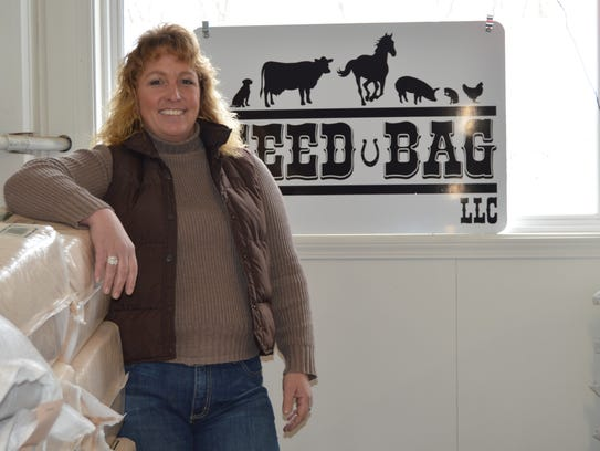 Tracie Clough, owner of The Feed Bag, LLC