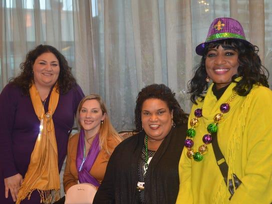 Peggy Joseph and her staff promote Louisiana tourism