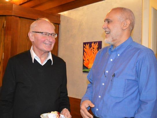 Rabbi Emeritus Ron Isaacs, of Temple Sholom in Bridgewater,