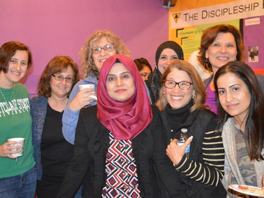 Members of the Raritan Valley chapter of Sisterhood