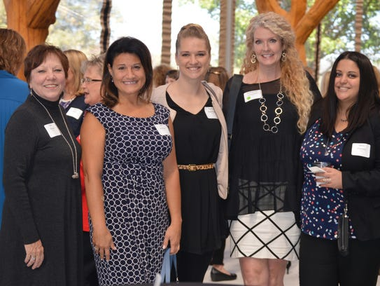 Sue Boule (from left), Lori Bottoni, Rachel Buccholtz,