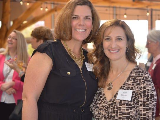 Community advocates Christine Daugherty and Beth Kumer,