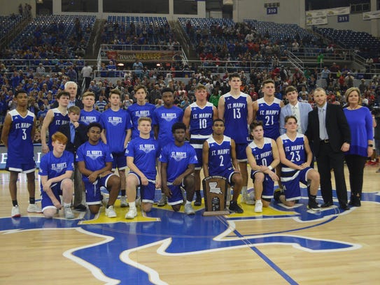 The St. Mary's Tigers are the Division IV runners-up.
