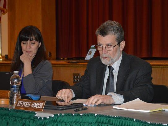 School board president Stephen Jambor acknowledged