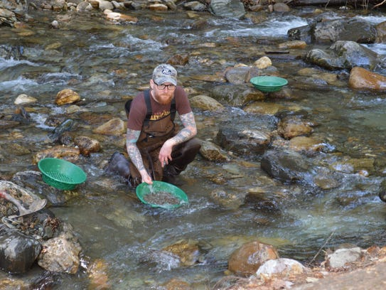 Vermont gold rush still going strong nelson illinski pans for gold in may he teaches others publicscrutiny Choice Image