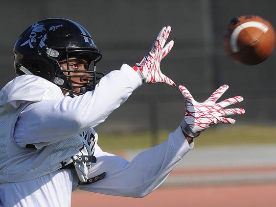 Wide receiver Stevie Houston, a Rio Mesa High graduate,