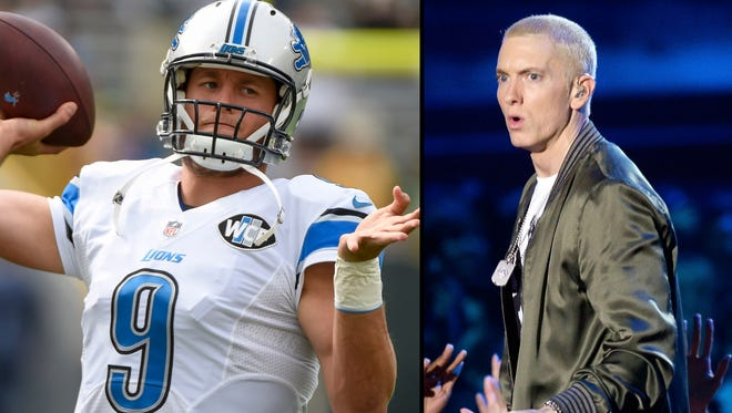 Eminem and the Detroit Lions teamed up for a shirt.