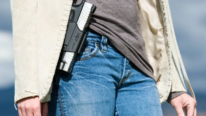 Nevada does not restrict open carry guidelines, which means carrying an unconcealed firearm in public is legal,