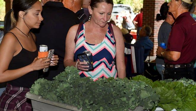 The Opelousas Farmer's Market will be held Sept. 18 at the Farmer's Market Pavilion on East Landry Street in Opelousas.