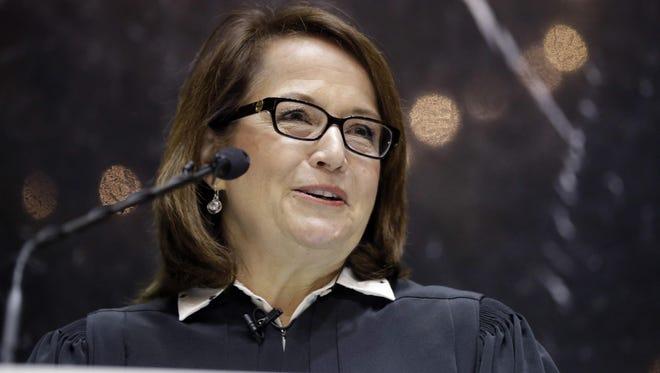 Indiana Supreme Court Chief Justice Loretta Rush.