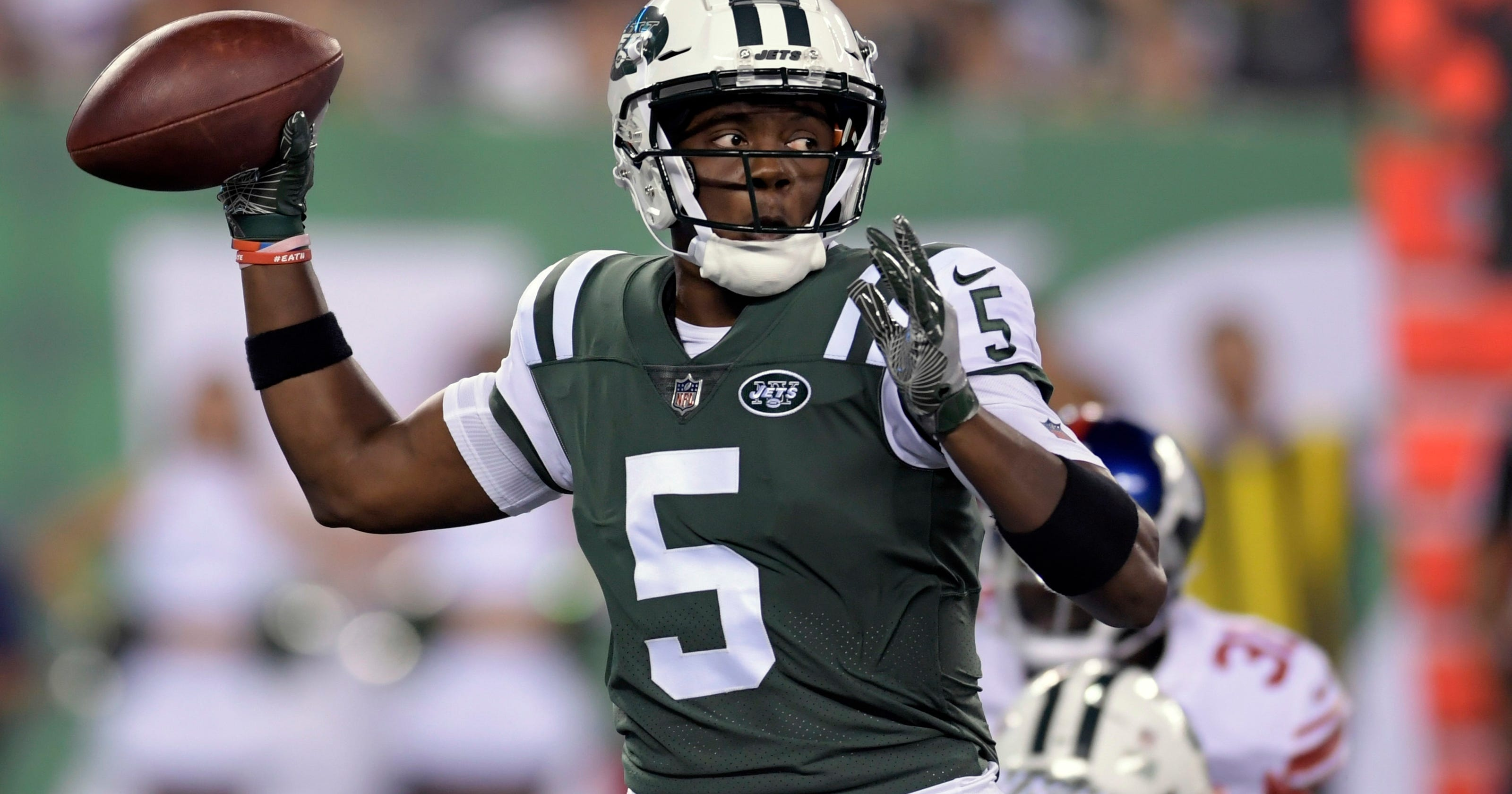 separation shoes 7627b 294cf Saints acquire QB Teddy Bridgewater from Jets