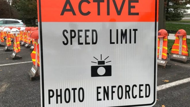 Speed cameras are being used in work zones around the state. TERESA BOECKEL/YORK DAILY RECORD