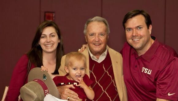 Clay Ingram and family