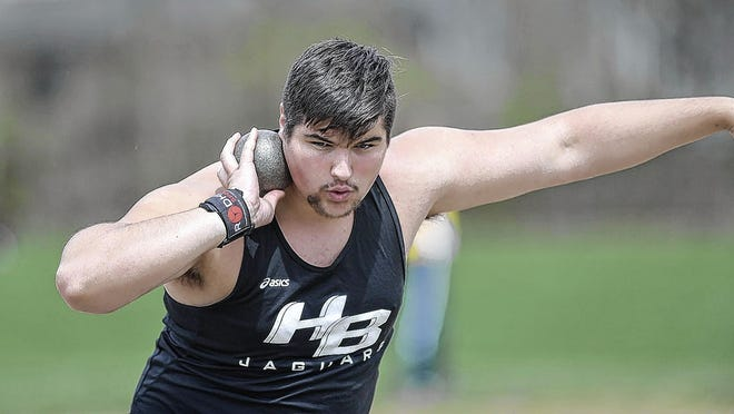 Bradley senior David Metzler, a standout in both football and track and field who graduated with a 4.3 GPA, will play football at Youngstown State.