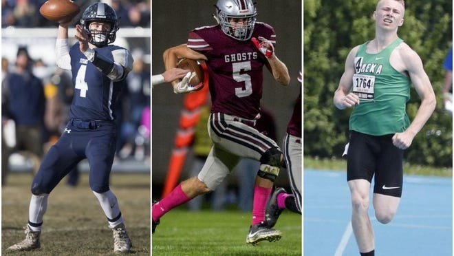 Three of the Peoria area's elite boys athletes -- Coltin Quagliano of Wethersfield, Kam Wollard of Illinois Valley Central and Aden Sears of Eureka -- balanced passion and perspective about the Illinois High School Association's decision to alter its 2020-21 sports calendar.