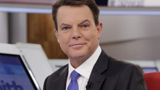 """Shepard Smith appears on The Fox News Deck before his """"Shepard Smith Reporting"""" program on Jan. 30, 2017, in New York. Smith returns to TV with a general interest newscast on CNBC that premieres Sept. 30."""