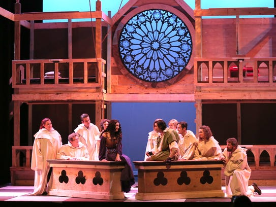 The cast of the Renaissance Theatre production of The