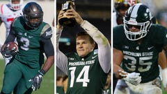Michigan State football's Brian Lewerke, LJ Scott, Joe Bachie make preseason watch lists