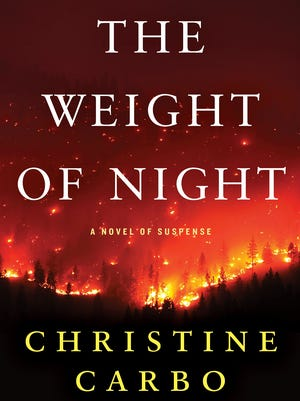"""""""The Weight of Night"""" by Christine Carbo."""