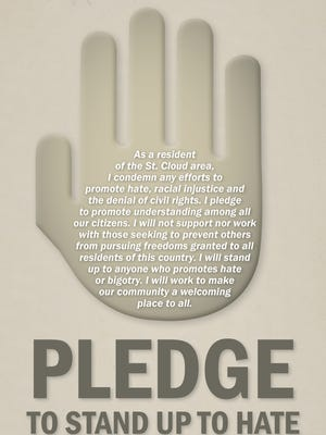 Pledge to stand up to hate.