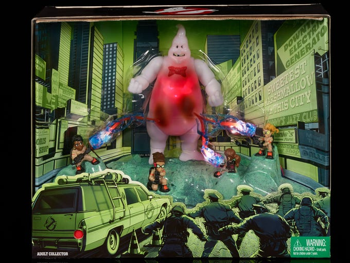 "The ""Ghostbusters' Light & Sound pack ($24.99) stars"