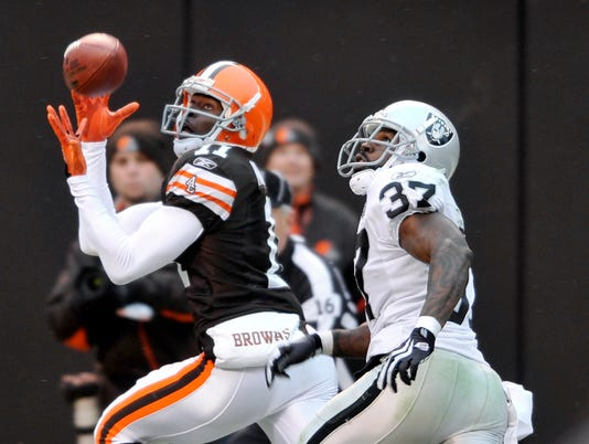 AP RAIDERS BROWNS FOOTBALL S FBN USA OH