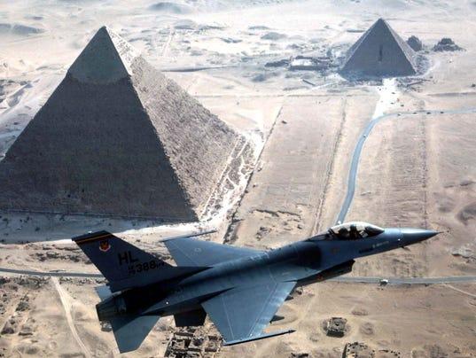 F-16 over Egypt