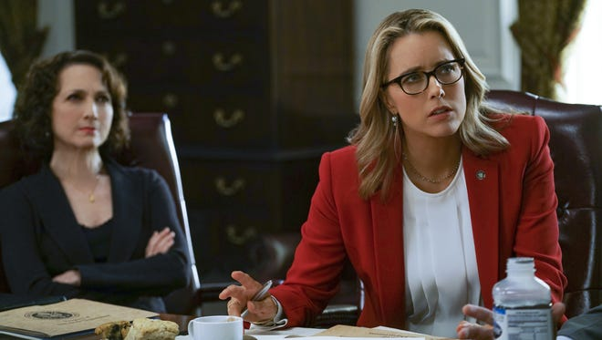 Elizabeth (Téa Leoni) and Co. await the outcome of a crucial election.