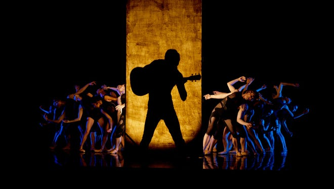 """""""Under the Lights,"""" a full-length ballet inspired by the musical legacy of Johnny Cash, premiered in 2014 as part of Nashville Ballet's """"Attitude"""" series."""