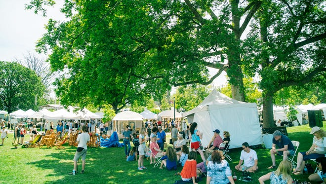 The American Artisan Festival this weekend in Centennial Park has all price ranges and is a popular outing for summer art lovers.