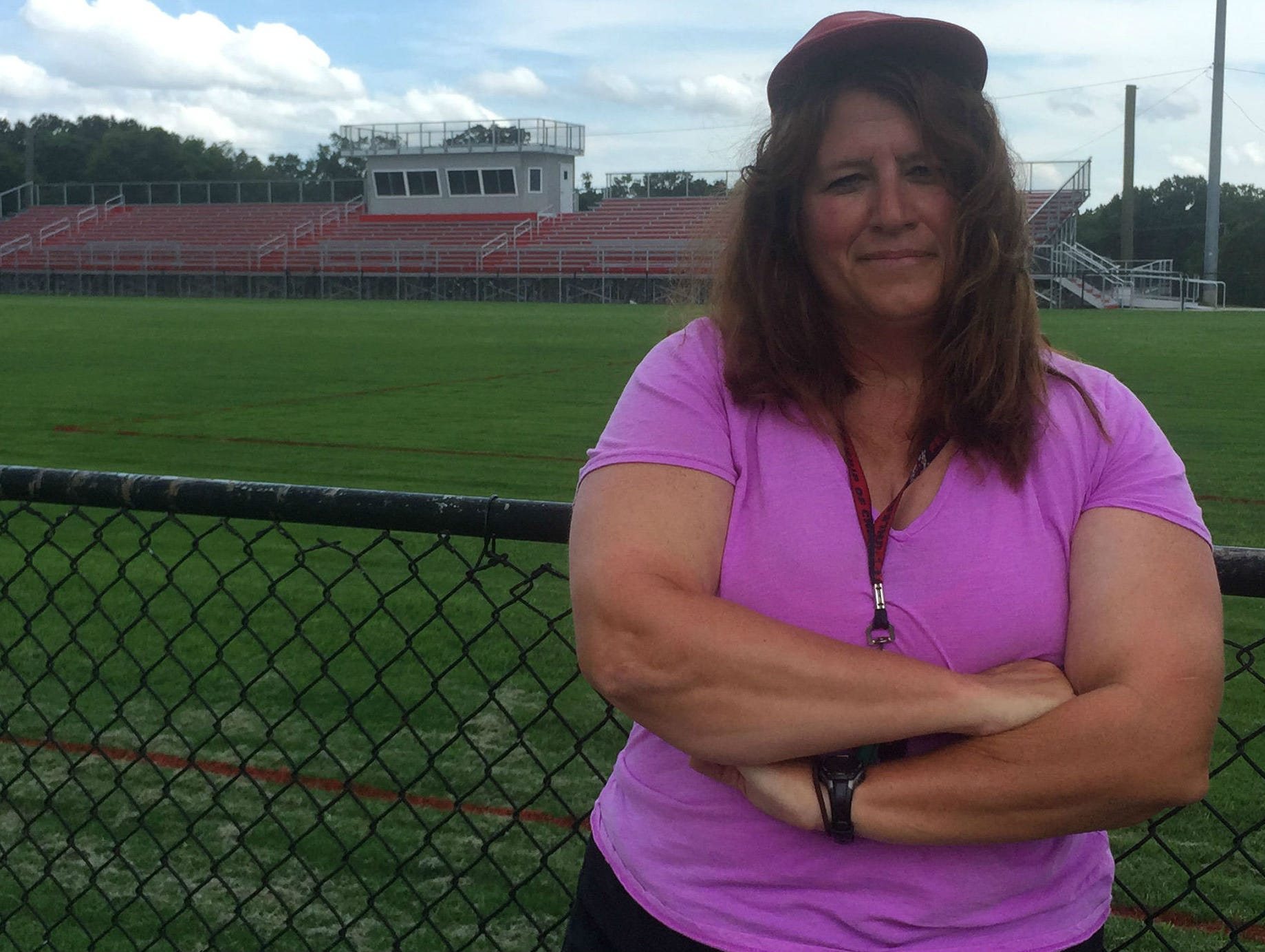 Glencliff football assistant coach Lisa Limper is happy Jen Walter finally broke the gender barrier for coaches in the NFL.