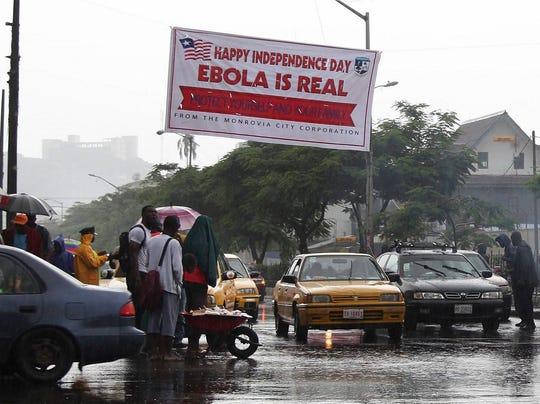 EPA LIBERIA EBOLA