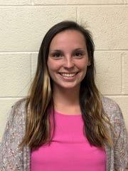 Elmira College senior tennis player Megan Fitzgerald.