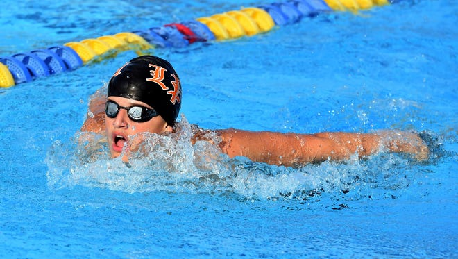 Lincoln Park Academy has talented young swimmers on both the boys and girls teams, according to coach Linda Boltersdorf.