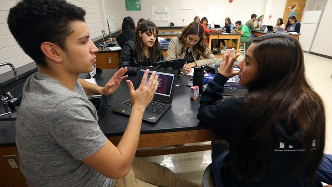 The Socorro Independent School District has proposed a $448.5 million bond, part of which would be used to replace the overcrowded Socorro High School. Election Day is Tuesday.