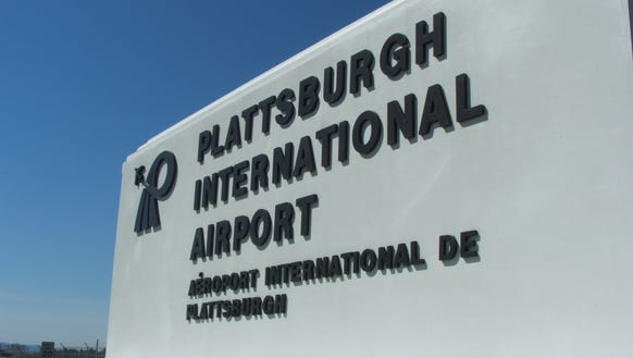 Plattsburgh International Airport in Upstate New York