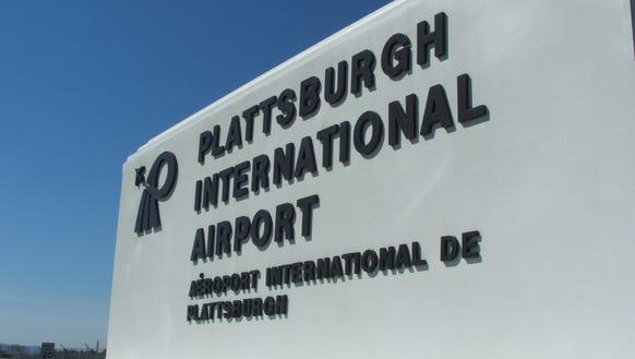 Plattsburgh International Airport in Upstate New York
